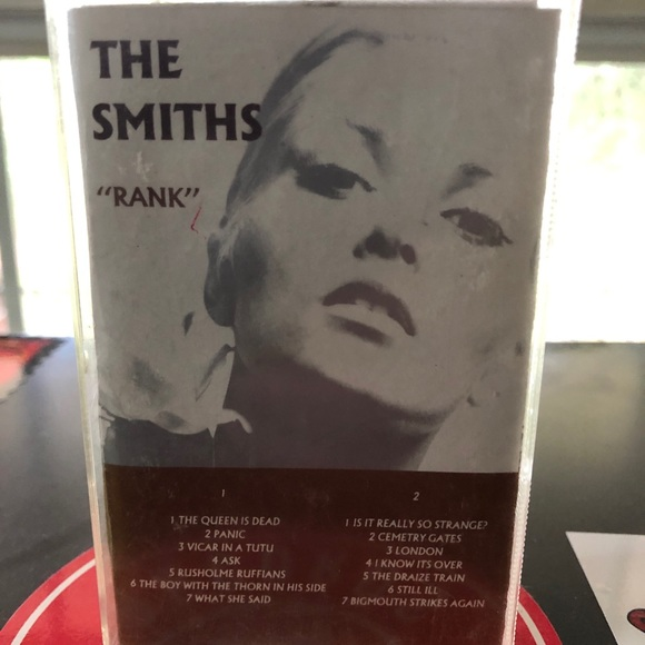 """The Smiths - """"Rank"""" - Cassette Tape - Sire Records"""